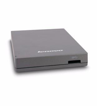 联想USB3.0移动硬盘  F309 2.5英寸 灰色 磨砂质感 轻巧耐用